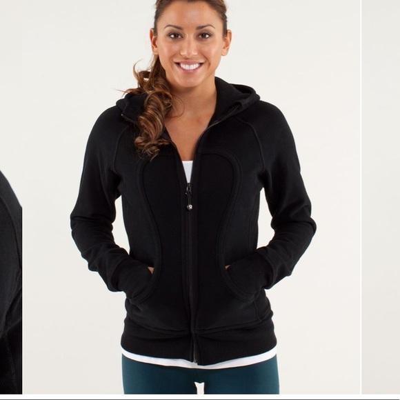 Lululemon black size 10 scuba hoodie